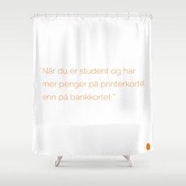 Studentlife Shower Curtain