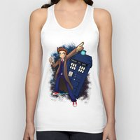 doctor who Tank Tops featuring Doctor Who by Lucy Fidelis