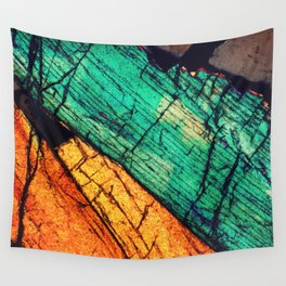Epidote and Quartz Wall Tapestry