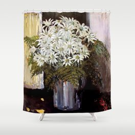 """Banksia"" by Australian Artist Margaret Preston Shower Curtain"