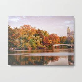 Autumn Colors Are the Best Colors - New York City Metal Print