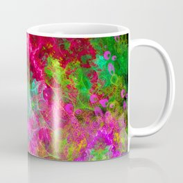 Hallucinogenic Hibiscus Flowers Coffee Mug