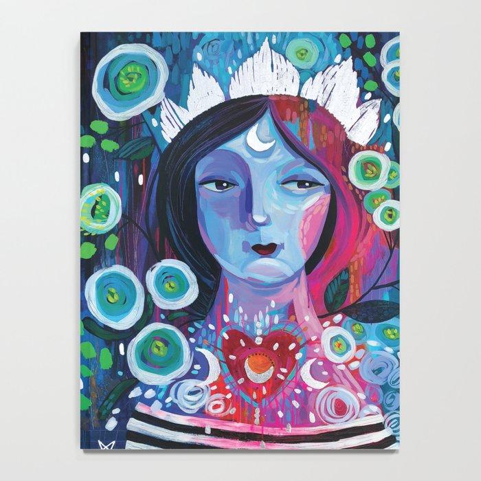 Moon Goddess Notebook
