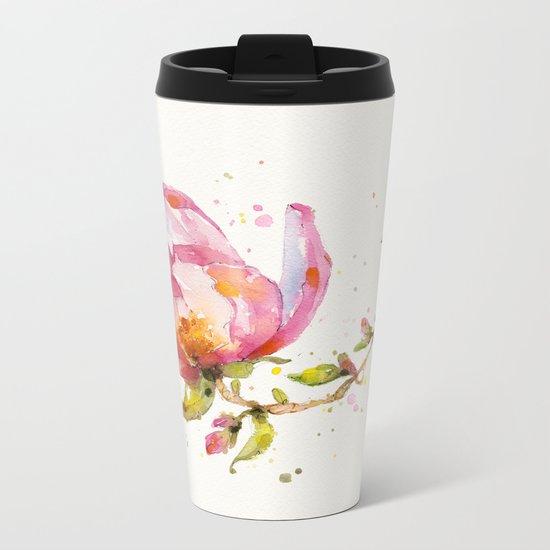 Magnolia & Buddy Metal Travel Mug
