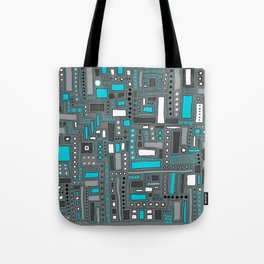 Turquoise Dream (Pattern) Tote Bag