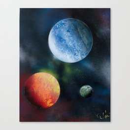Celestial Triad Canvas Print