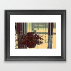 Candle Holder Framed Art Print