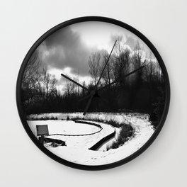 Dark Skies Pond Wall Clock