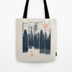 A Fox in the Wild... Tote Bag