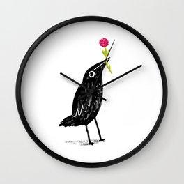 Caw Blimey Wall Clock