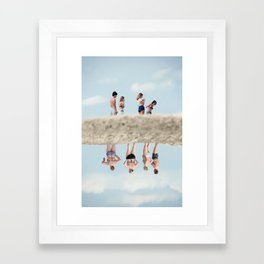 Satta Outside Framed Art Print