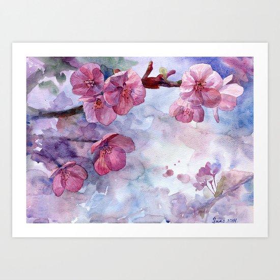 """""""Sakura"""" Art Print"""