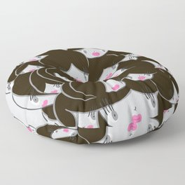 Girlie Heads! Floor Pillow