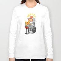 shiba Long Sleeve T-shirts featuring Shiba Slots by  terrorbunnystudios