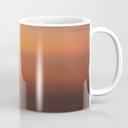 Blended Sunset Over the Bay, Rothko Inspired Exposure Coffee Mug
