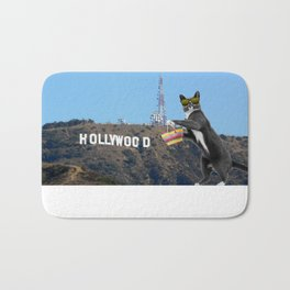 Ray in Hollywood Bath Mat