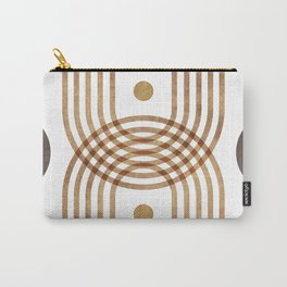 Arch Symmetry - Contemporary Minimal Carry-All Pouch