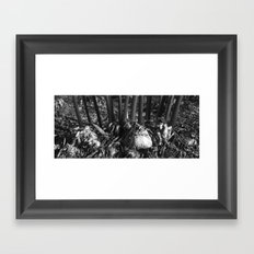 Naked Lady Bottoms Framed Art Print