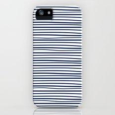 Sailor Tee - Navy iPhone (5, 5s) Slim Case