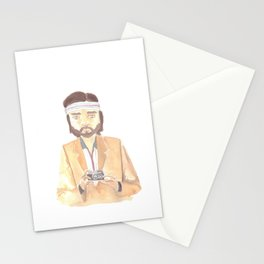 Richie Tenenbaum Watercolor Stationery Cards