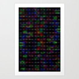 Mosaic no.20 Art Print