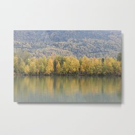 The Other Side of the Lake Metal Print