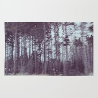 forrest Area & Throw Rugs featuring Forrest by Anthony Londer