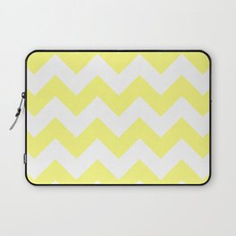 Butter Yellow Chevron Laptop Sleeve