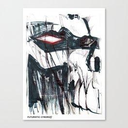 Futuristic Cyborg 3 Canvas Print