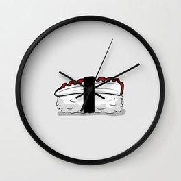Sashimi Sushi Wall Clock