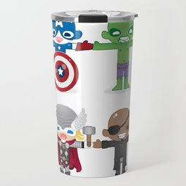 THE AVENGER'S 'ASSEMBLE' ROBOTICS Travel Mug