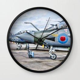 Buccaneer strike aircraft Wall Clock