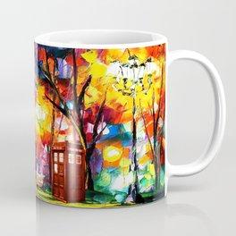 Tardis Dr Who Coffee Mug