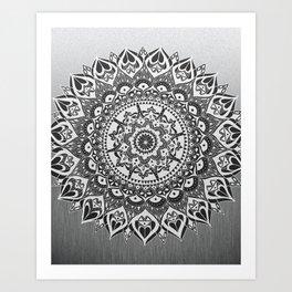 Mandala Lace Art Print