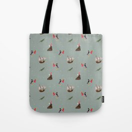 Neverland Pattern Tote Bag