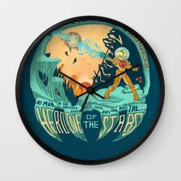 In Super Troidicolor Wall Clock