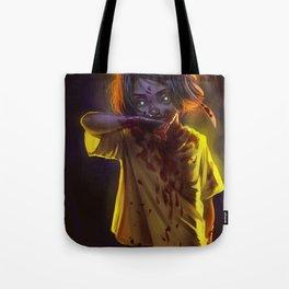 Vampire Girl (#Drawlloween2016 Series) Tote Bag