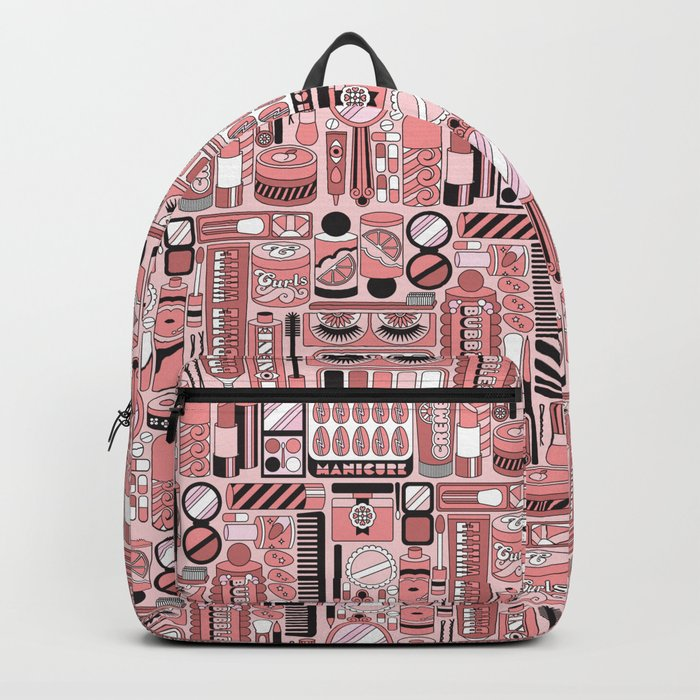 Beauty Routine Classy Backpack