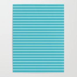 Lemoncello Striped Poster