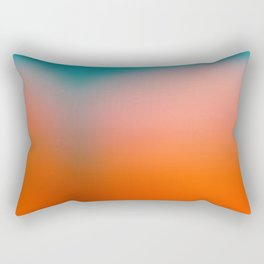 Red Water Rectangular Pillow