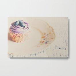 afternoon tea & a cupcake ... Metal Print