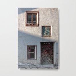 facade of an old house Metal Print
