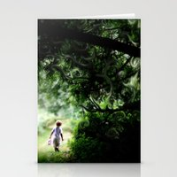 neverland Stationery Cards featuring Neverland by NishaJayne