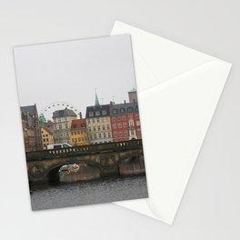 Copenhagen buildings Stationery Cards