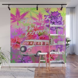 Fresh Spring Vibes Wall Mural
