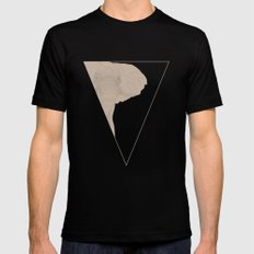 All lines lead to the...Inverted Elephant Mens Fitted Tee Black MEDIUM