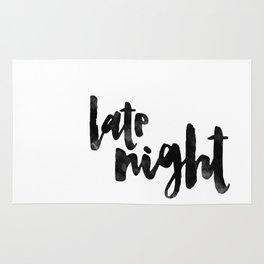 late night Rug