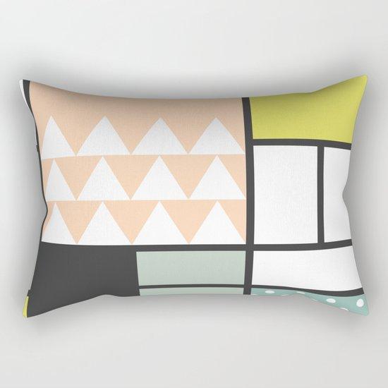 Summer Mondrian 2016 Rectangular Pillow