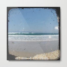 The Beach - Through The Viewfinder (TTV) Metal Print