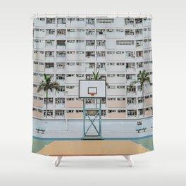 Hong Kong / Choi Hung Estates, Kowloon Shower Curtain